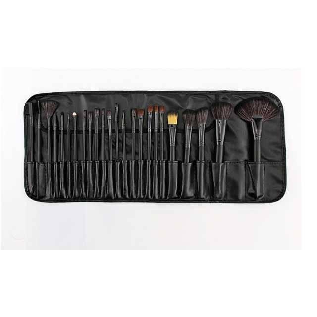 HUDA BEAUTY Professional Makeup Brush 24 Pieces Set with PU Bag (Model: TS24)