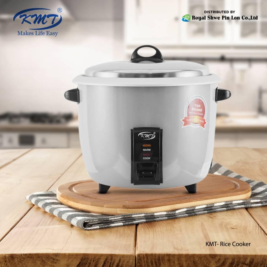 KMT Ricecooker 500W Gray(2.2 L) (FO21E)