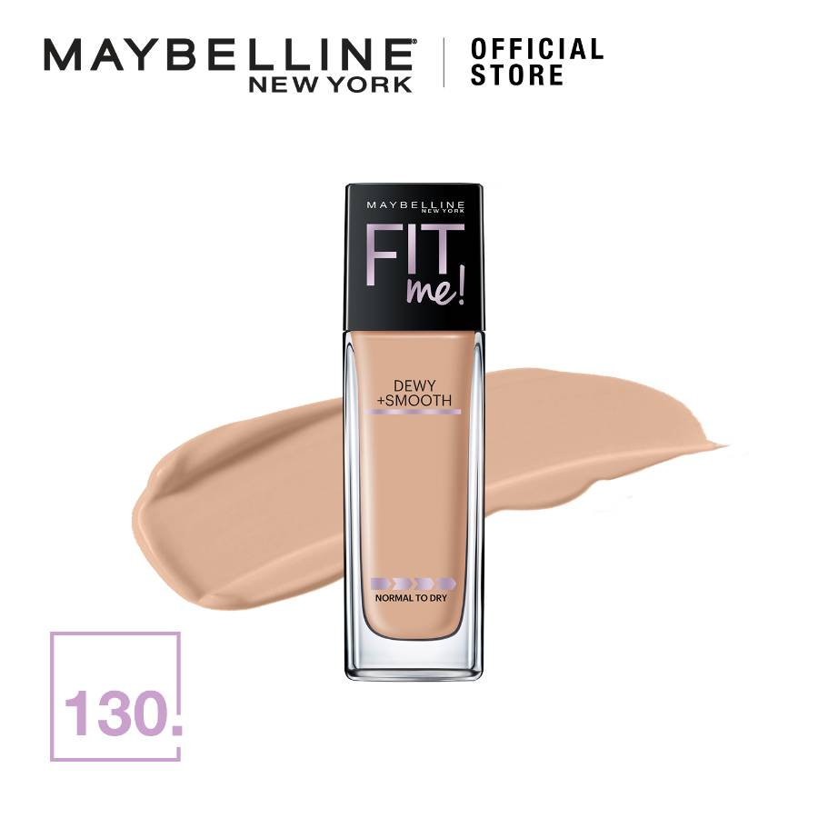 Maybelline Fit Me Dewy & Smooth Foundation 130 Buff Beige (G3748500)