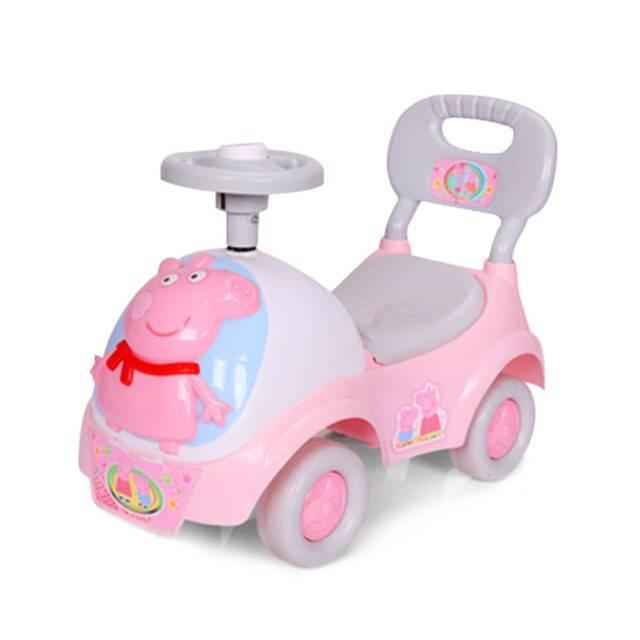 Peppa Pig Ride On Push Along Music Lighting Car Toy 1-3 YRS Children Vehicle (Model:PP1888) (FO21E)
