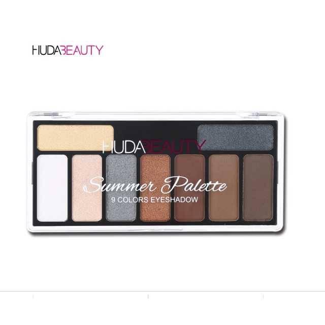 HUDA BEAUTY 9 Colors The Nude Eye Shadow Palette (Model: 533YYP)