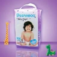 Peekaboo Baby Diaper (XXL) 8Pcs