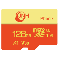 JNH MicroSD 128GB Class10 UHS-1 A1 U3 V30 4k Ultra HD