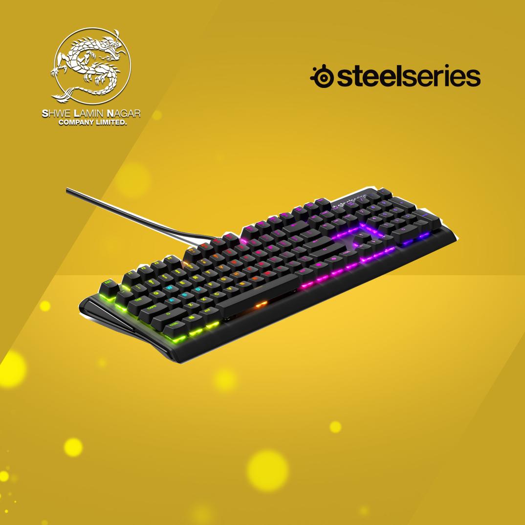 SteelSeries Apex M750 Prism US Gaming Keyboard