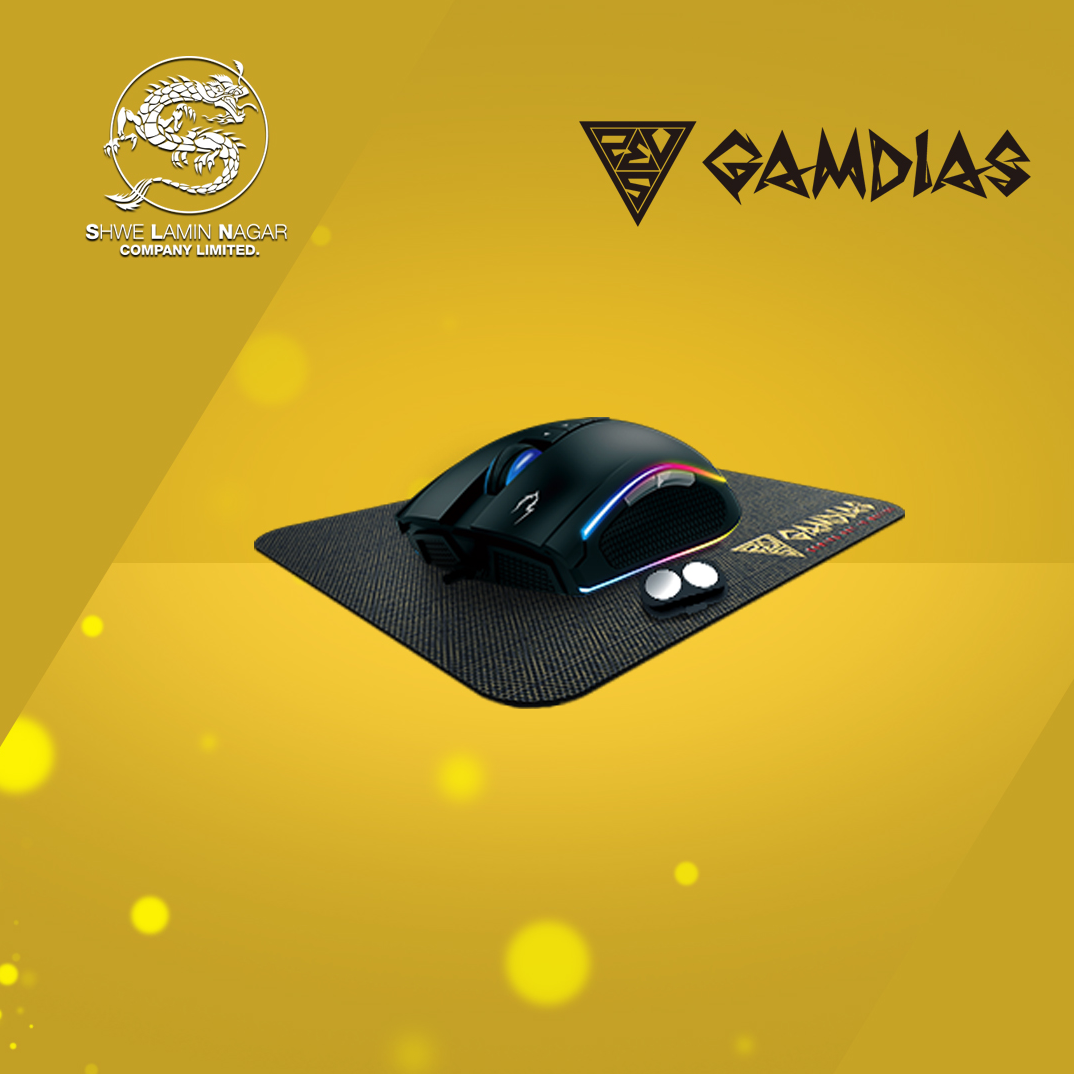 Gamdias ZEUS M2 ( Mouse and Mouse Pad )
