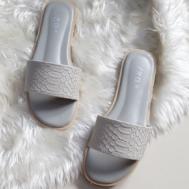 VR Girl Slipper Footwear Gray (GP-004)