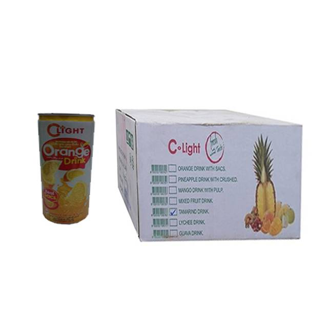 Clight Fruit Juice Orange 240ml Can (24 pcs)