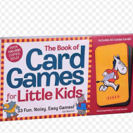 Monument The Book of Card Games for Little Kids: 33 Fun, Noisy, Easy Games(9780761107088)