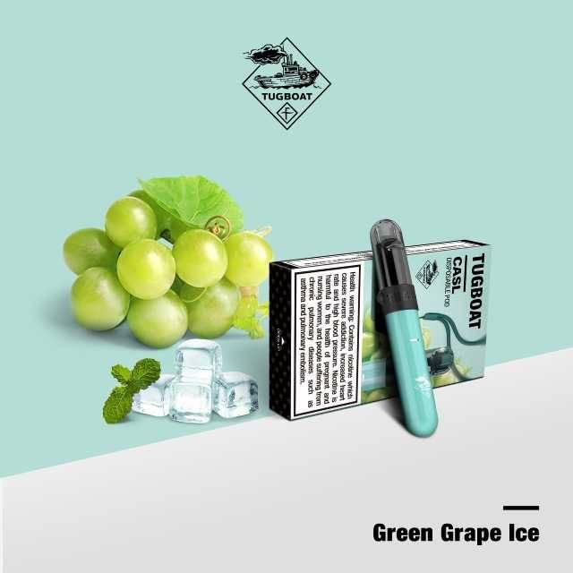 Tugboat V4 (Green Grape Ice) - 1pc