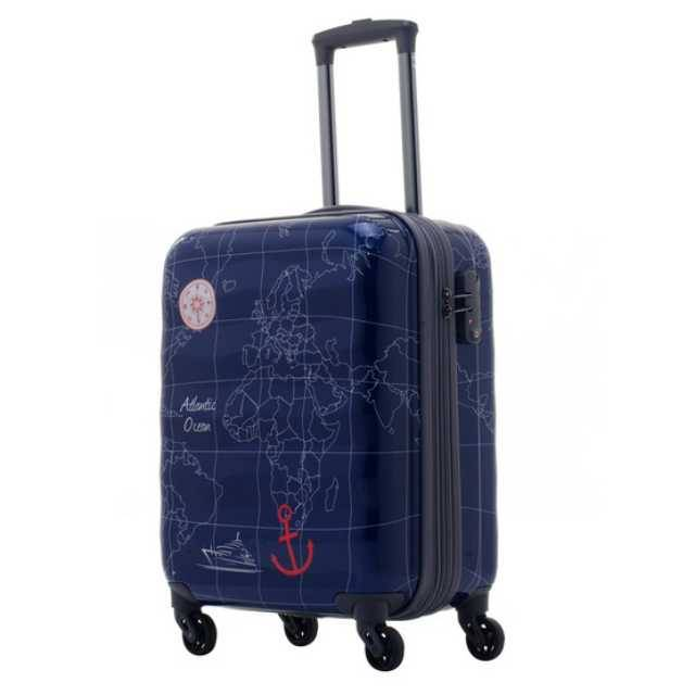 Caggioni Geographic Collection Travel Luggage (16-13-C18121) Size 20""