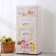"5 Step Happy Bear Drawer (15"" x 12"" x32"" )"