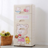 "Happy Bear 5 Layers Drawer [15"" x 12"" x 32""]"
