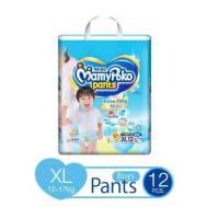 Mamypoko Pants Extra Dry Skin Diaper Boy (L-12 pcs)
