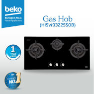 Beko - Hob (3 Gas) - HISW93225SOB