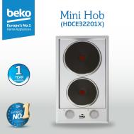 Beko - Hob (2 Hotplate) - HDCE32201X