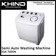 KHIND 7 Kg Semi Auto Washing Machine (KSA - 700SN)