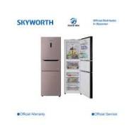 SKYWORTH Three Door Refrigerator SRT-233CB
