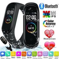 M4 Smart Band Fitness Tracker Sport Bracelet Heart Rate Blood Pressure Waterproof Monitor Heart Rate