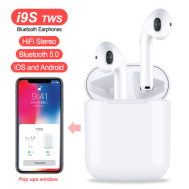 i9S TWS Bluetooth EarBuds (Andriod & iOS)