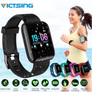 Victsing IP67 Waterproof Smart Watch (Heart Rate Blood Pressure Fitness Sport Bracelet)