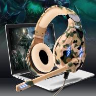 GT-95 USB Gaming Headphones (LED Light) မီးလင္း နားၾကပ္