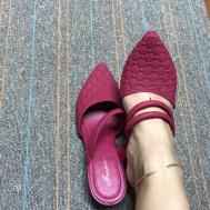 Selfiee Jelly Flat Heel Lady Shoe