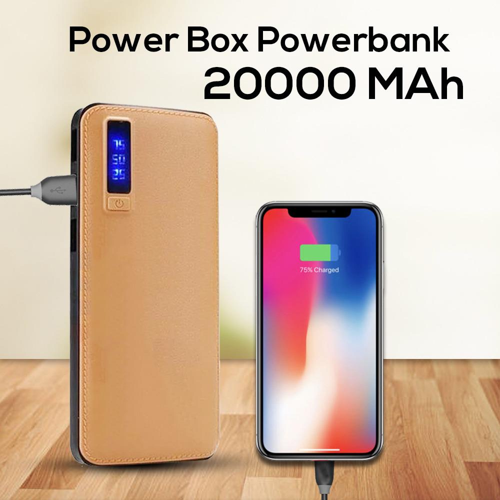 Power Box 20000mAh Power Bank LED Display
