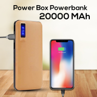 Power Box 20000mAh Power Bank LED Display