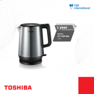 Toshiba Double Kettle (1.7L) KT-17DR1NM
