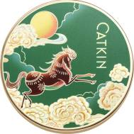 CATKIN 4 COLOR PRESSED POWDER