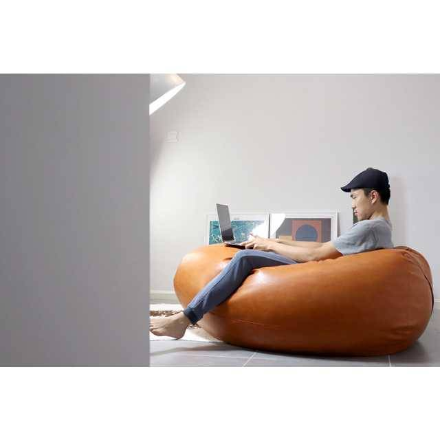 City Bean Bag Sacco Bean Bag Leather (Large size)