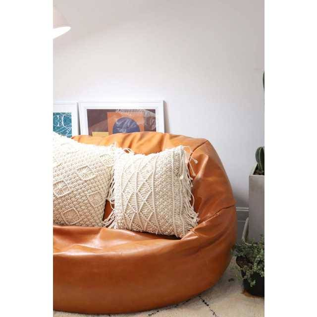City Bean Bag Sacco Bean Bag Leather (Normal size)