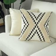 City Bean Bag Boho Pillow (A)