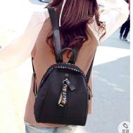 Love Black Backpack (10x7x6)inches