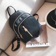Gold Zip Mini Backpack [18x26x10]