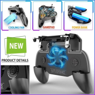 SR 2000mAh  Power Bank Game Pad With Cooling Fan