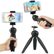 Mini Tripod with Phone Holder Self-Tripod