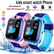 Children Smart Watch GPS, SIM, SOS & Call Location Device (ကေလးတည္ေနရာျပ ေရစိုခံနာရီ)