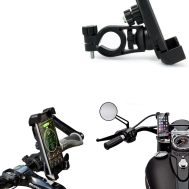 Universal Bike Holder For Phone Adjustable Phone & GPS Stand