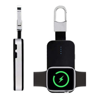 Portable Key Ring Pack Wireless Charger Charging Dock For Apple Watch (1 2 3 4)