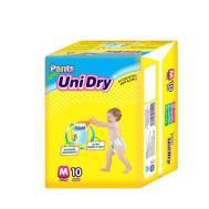 UniDry Pant Diapers 10 pads (M10)
