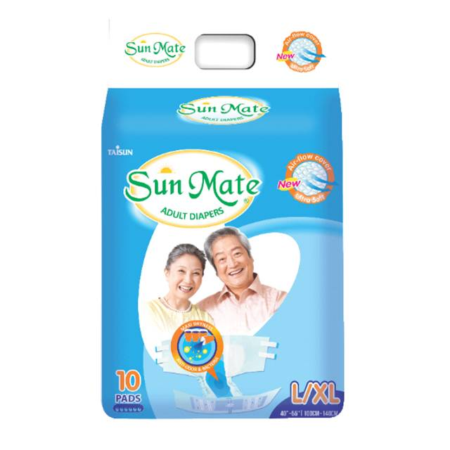 Sun Mate Adult Diapers(L/XL)