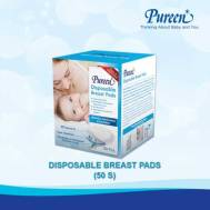 Pureen DISPOSABLE BREAST PADS 50'S ('31BFD301050)