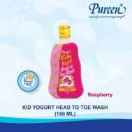 Pureen KIDS YOGURT HEAD TO TOE - RASPBERRY 150 ML (31KKT314150)