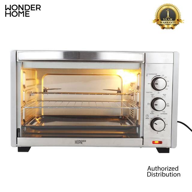 WONDER HOME Electric Oven 35L 1600W (MODEL:WH-O-35)