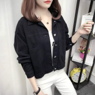 Selfiee Candy Jean Coat