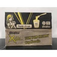 Yum Yum Xcite Instant Noodle Tom Yum Creamy 70G (Cup) (24 Pcs)