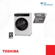 TOSHIBA  8.5Kg Fully Auto Front Load BLDC Inverter (TWBH-95M4MM)