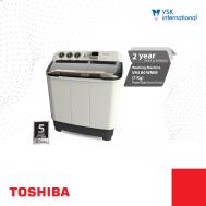 TOSHIBA 7Kg Twin Tub Semi-Auto Washing Machine (VH-J80WMM)