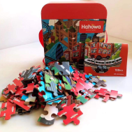Monument London Bus Puzzle Family(6972822070025)